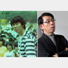 吉田照美さん(左は文化放送アナ時代)/(C)日刊ゲンダイ