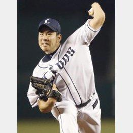 今季は自身初の2ケタ勝利(C)日刊ゲンダイ