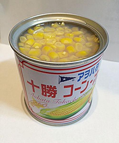 アヲハタの十勝コーン缶詰がスーパーから消える(C)日刊ゲンダイ