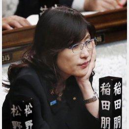 稲田大臣に現場はがっかり(C)日刊ゲンダイ