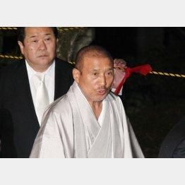 6代目側は改めて組員の団結を強調(司忍組長)/(C)日刊ゲンダイ