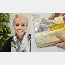 アロハシャツ風に折った1ドル紙幣がお守り(提供写真)