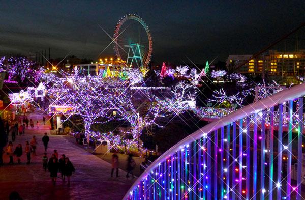 クリスマスイルミネーション(C)日刊ゲンダイ