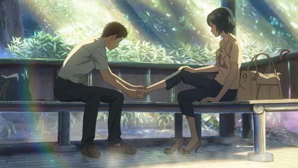 「言の葉の庭」(C) Makoto Shinkai ・ CoMix Wave Films