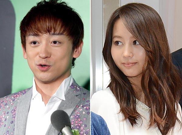 山本耕史(左)と堀北真希(C)日刊ゲンダイ