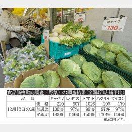 130円は夢のよう(今年春のスーパーで)/(C)日刊ゲンダイ