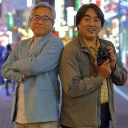 宮嶋茂樹氏(左)と小原玲氏は「フライデー」創刊時の同僚(C)日刊ゲンダイ