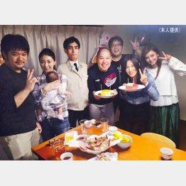月1開催「天野会」での記念写真/(三瓶提供)