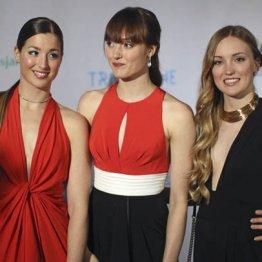 ソチで活躍 カナダのモーグル3姉妹ファッション界も席巻