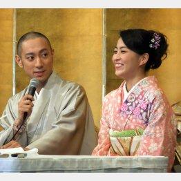 海老蔵&麻央夫妻(C)日刊ゲンダイ
