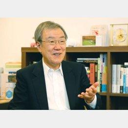世界史の圧倒的教養で知られる出口治明氏(C)日刊ゲンダイ