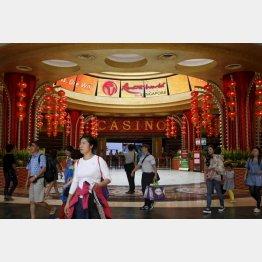 シンガポールのカジノ(C)ロイター