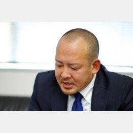 「申し訳ない」と語った角南圭元社長(C)日刊ゲンダイ