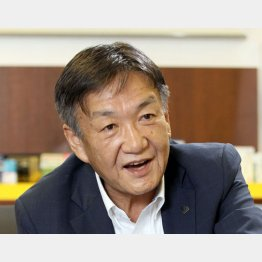 クラシエホールディングス社長の石橋康哉さん(C)日刊ゲンダイ