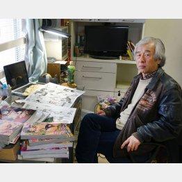 「漫画屋」代表の塩山芳明さん(C)日刊ゲンダイ