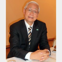 日本実業団陸上競技連合会長の西川晃一郎氏(C)日刊ゲンダイ