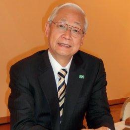 日本実業団陸上競技連合会長の西川晃一郎氏