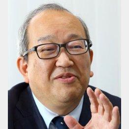 天丼てんやの用松靖弘社長(C)日刊ゲンダイ