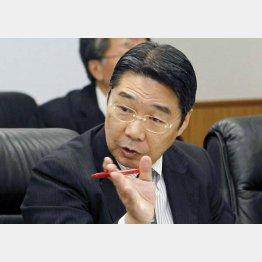 辞任した前川喜平事務次官(C)共同通信社