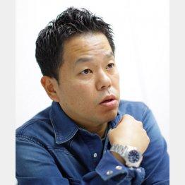 お笑いコンビ「ダイアン」の津田篤宏/(C)日刊ゲンダイ