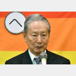 元ソニー会長・出井伸之氏は「LGBTの集い」に参加(C)日刊ゲンダイ