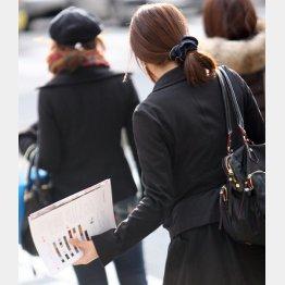 安心なのは働く意欲がある女性(C)日刊ゲンダイ