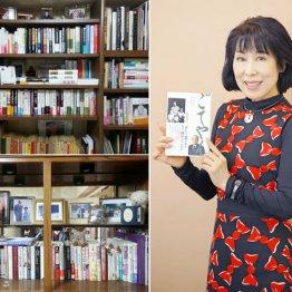 部屋の2カ所に本棚が 演歌歌手・原田悠里さんの読書歴
