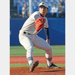 日大三高は桜井の好投も評価された(C)日刊ゲンダイ