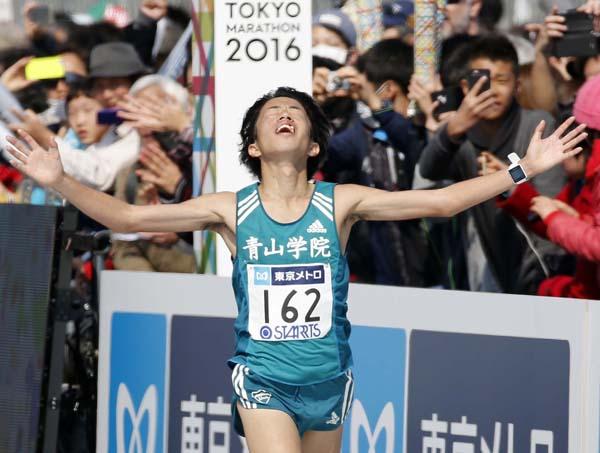 昨年の大会は日本人2位の下田裕太(C)日刊ゲンダイ