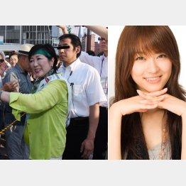 ボディーガードは西島秀俊似のイケメン。右は共演した西野翔