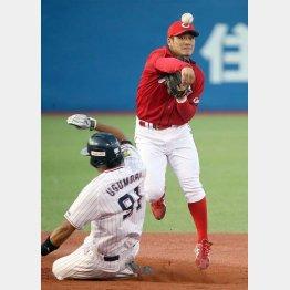 田中は三塁へ?