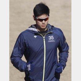 WBCでの登板断念を表明した大谷(C)日刊ゲンダイ