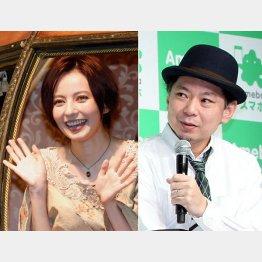 鈴木おさむ(右)が復帰指南(C)日刊ゲンダイ
