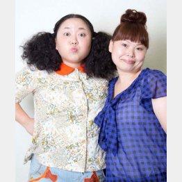 ニッチェの江上敬子(左)と近藤くみこ/(提供写真)