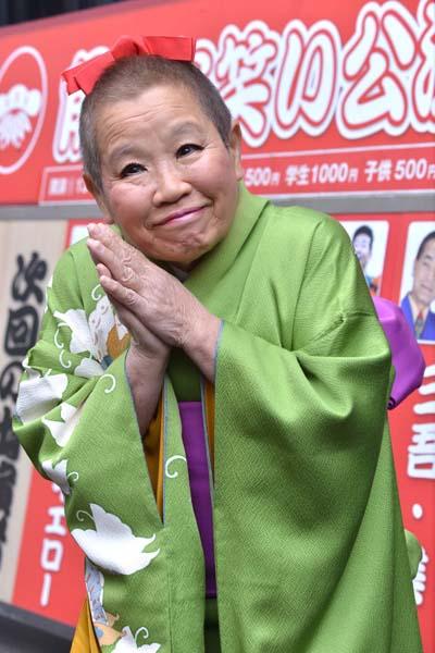 現在はピンで活動する正司敏江さん(C)日刊ゲンダイ