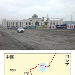 小雨の国境駅で筋金入りの「中華鉄子」と出会う
