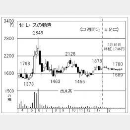 セレス(C)日刊ゲンダイ