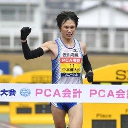 別大毎日マラソンを制した中本