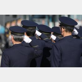 真面目な警察官が割を食う(写真はイメージ)