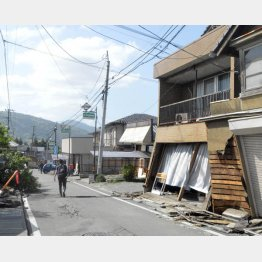 熊本の二の舞いに…(C)日刊ゲンダイ