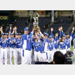 15年の「プレミア12」で優勝した韓国だが…(C)共同通信社