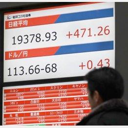 日経平均株価は高値圏のもちあい(C)日刊ゲンダイ