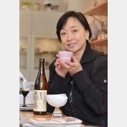 自宅に冷蔵ストッカーを持つほどの日本酒好き(C)日刊ゲンダイ