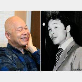 右が博報堂時代の逢坂さん(C)日刊ゲンダイ