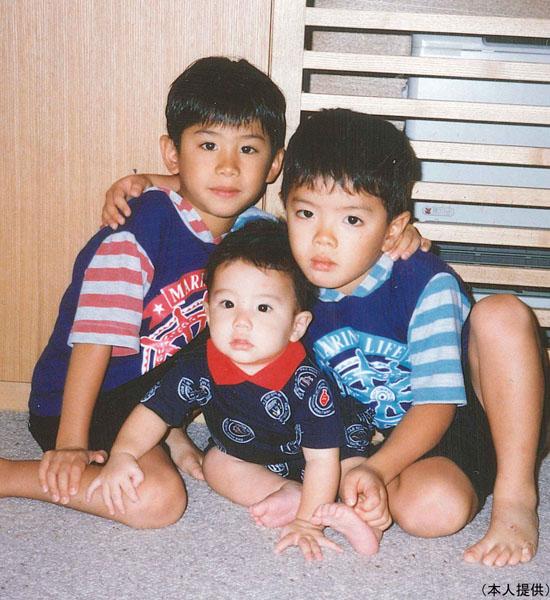 3兄弟(提供写真)