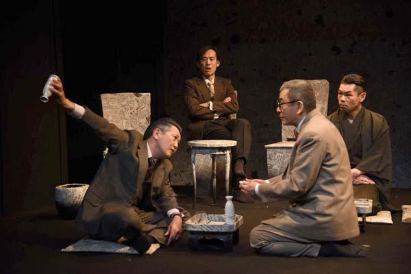 青年劇場「原理日本」撮影:宮内勝