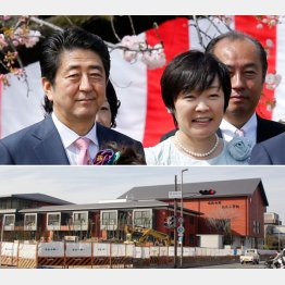 当初は「安倍晋三記念小学校」になる予定だった(C)日刊ゲンダイ