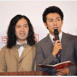 正反対な2人(C)日刊ゲンダイ