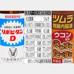 大正製薬とツムラ(C)日刊ゲンダイ