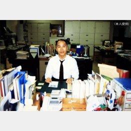 博報堂には31年3カ月勤務(提供写真)